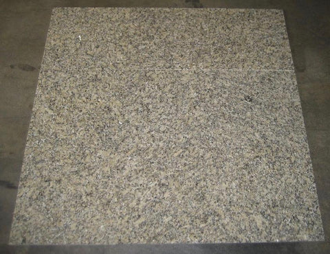Polished Crystal Gold Granite Tile