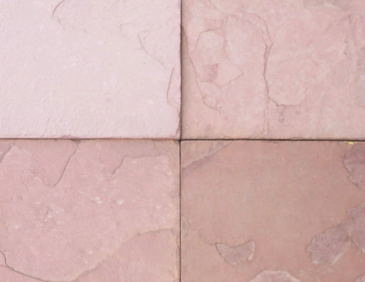"Desert Sand Slate Tile - 4"" x 8"" x 1/4"" - 1/2"" Natural Cleft Face & Back"