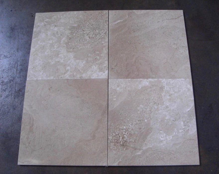 "Diano Reale Marble Tile - 12"" x 12"" x 3/8"""