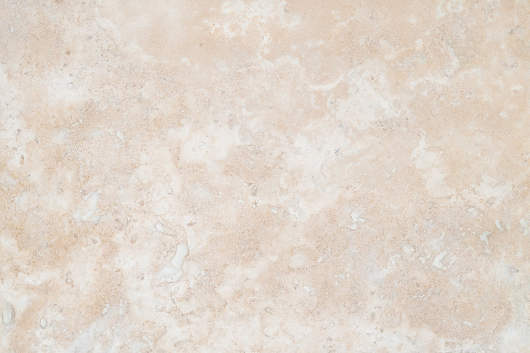 "Distressed Durango Travertine Tile - 8"" x 16"" x 3/8"" Honed"