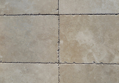 "Distressed Durango Travertine Tile - 8"" x 16"" x 3/8"""