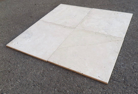 Sandblasted Durango Travertine Tile