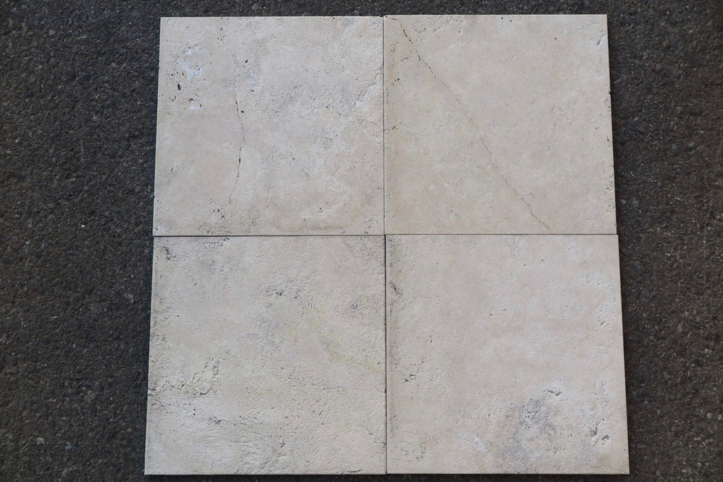 "Durango Travertine Tile - 12"" x 12"" x 3/8"""