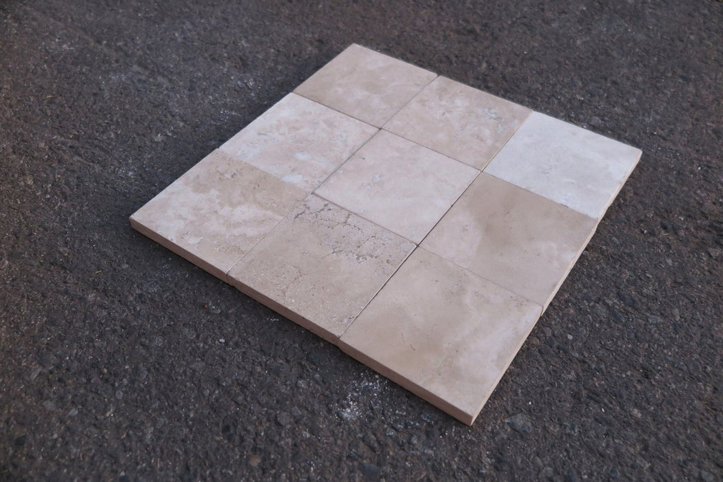 Filled & Honed Durango Travertine Tile