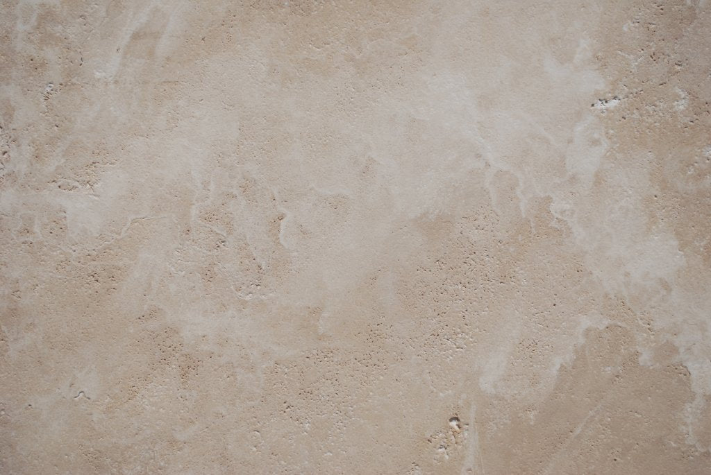 "Full Tile Sample - Durango Travertine Coping - 4"" x 12"" x 2 1/2"" Brushed"