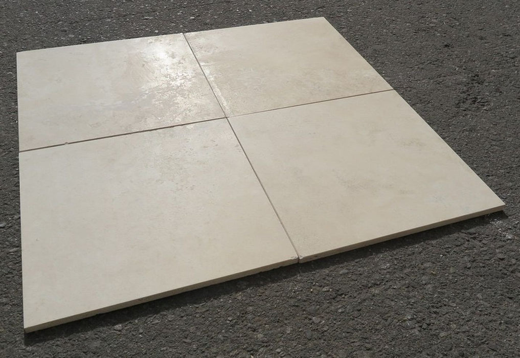 "Honed Durango Select Travertine Tile - 12"" x 12"" x 3/8"""