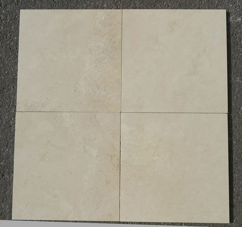 "Durango Select Travertine Tile - 12"" x 12"" x 3/8"""