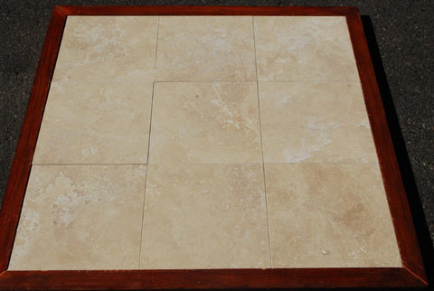 "Durango Standard Travertine Tile - 12"" x 12"" x 3/8"""