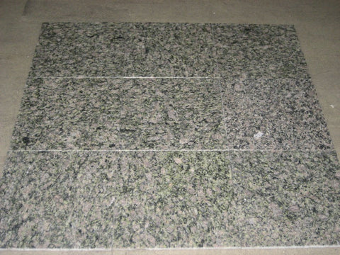 "Forest Green Granite Tile - 12"" x 12"" x 3/8"""