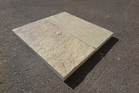 French Vanilla Limestone Coping