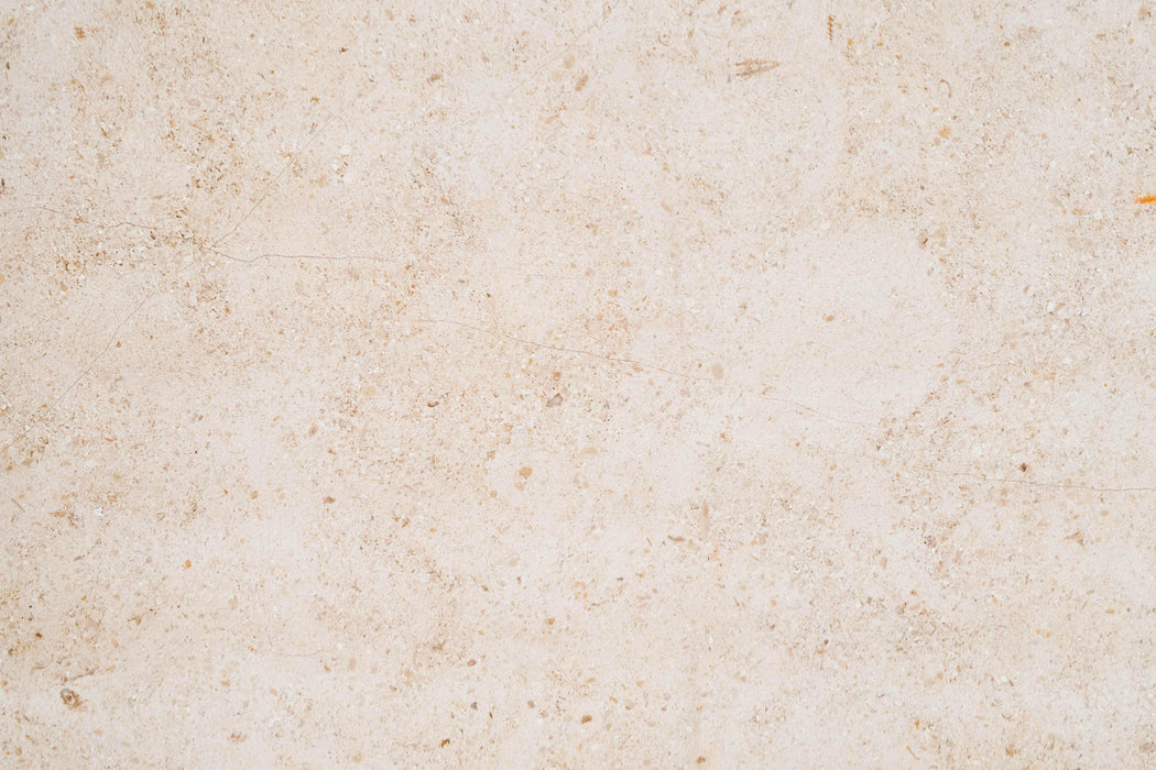 "Full Tile Sample - Gascoigne Beige Limestone Tile - 16"" x 16"" x 5/8"" Honed"