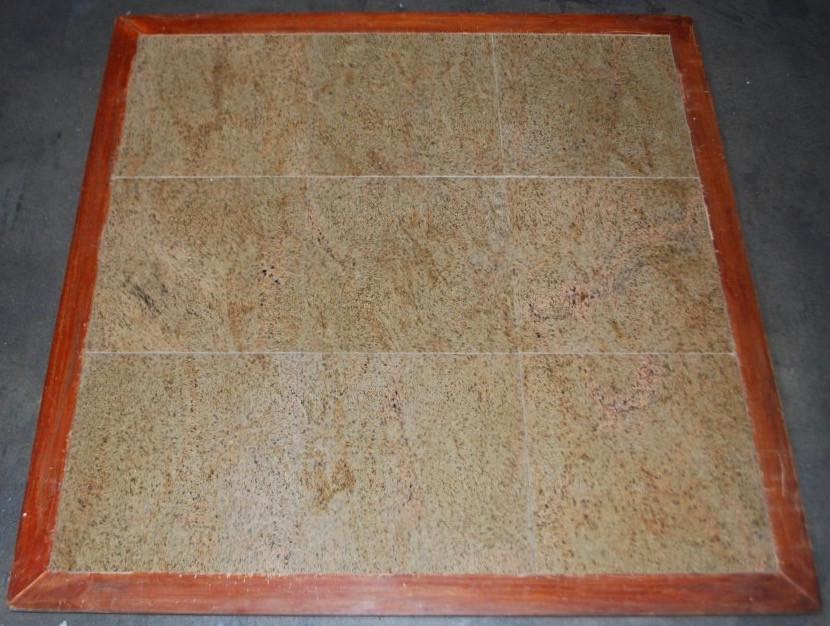 "Polished Giallo Imperial Granite Tile - 12"" x 12"" x 3/8"""