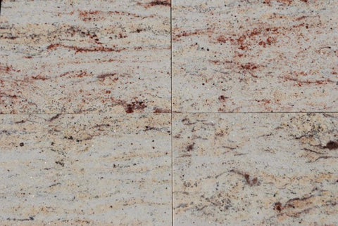 "Ivory Brown Granite Tile - 24"" x 24"" x 3/4"" Polished"