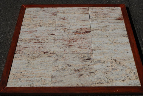 Polished Ivory Brown Granite Tile