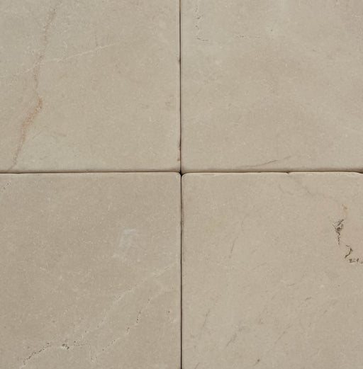 Ivory Cream Marble Tile - Tumbled