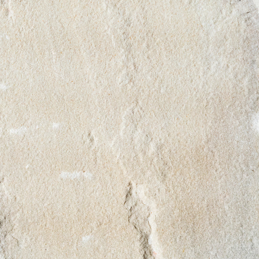 "Jade White Sandstone Tile - 6"" x 6"" x 1/2"" Split Edge"