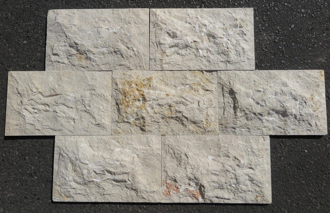 Jerusalem Grey Gold Limestone Ledgestone Split Face