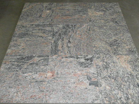 "Kinawa Rose Granite Tile - 12"" x 12"" x 5/16"""