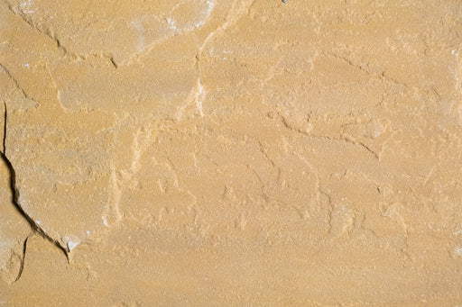 "Kokomo Gold Light Sandstone Tile - 12"" x 12"" x 1/2"" - 3/4"" Natural Cleft Face & Back"