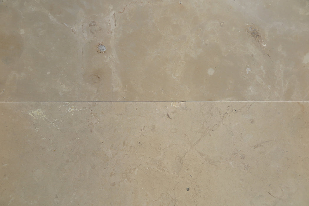"Lagos Gold Limestone Tile - 18"" x 18"" x 3/8"" Honed"