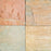 "Lime Yellow Slate Tile - 12"" x 12"" x 3/8"" - 5/8"" Natural Cleft Face & Back"
