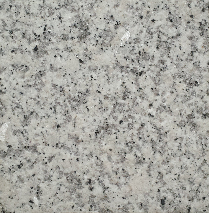 "Full Tile Sample - Luna Pearl Granite Tile - 12"" x 12"" x 3/8"" Flamed"