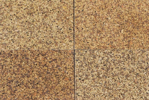 "Polished Marygold Granite Tile - 12"" x 12"" x 3/8"""