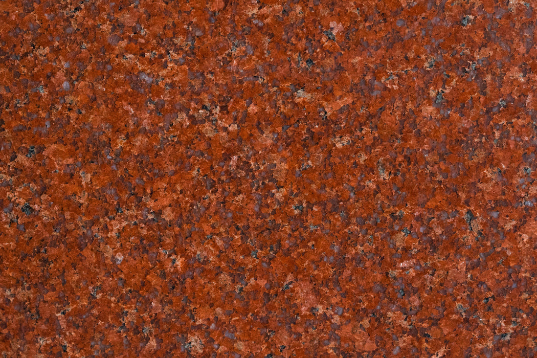 "Full Tile Sample - Ming Red Granite Tile - 12"" x 12"" x 3/8"" Polished"