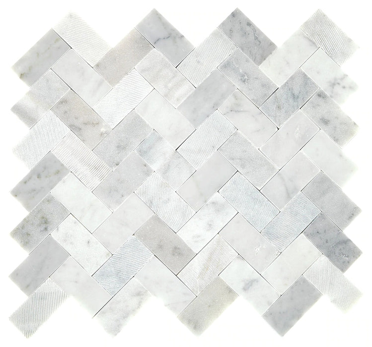 Minute Mosaix Carrara White M701