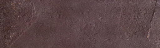 "Mocha Blend Slate Tile - 4"" x 12"" x 1/4"" - 3/8"" Natural Cleft Face & Back"