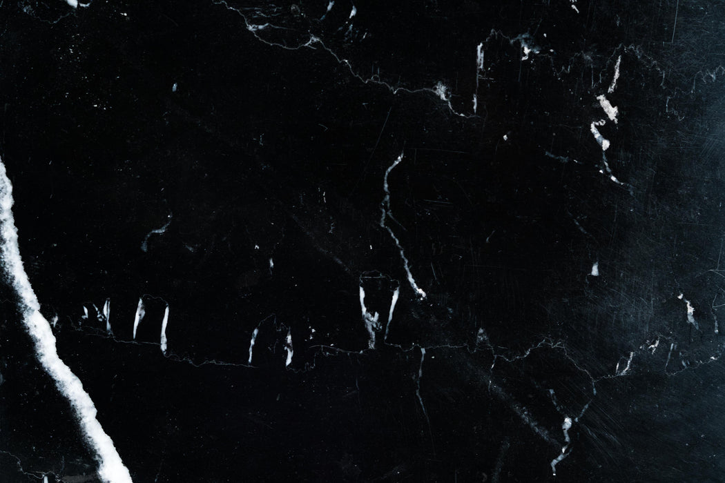 "Monterey Black Marble Tile - 12"" x 12"" x 3/8"" Polished"