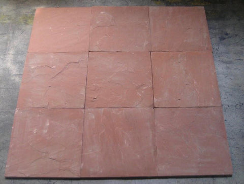 "Morning Glory Sandstone Tile - 16"" x 16"" x 1/2"" - 5/8"""