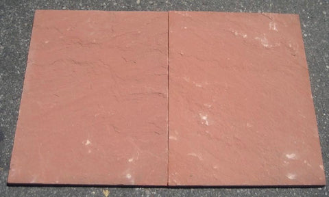 "Morning Glory Sandstone Tile - 18"" x 24"" x 1/2"""