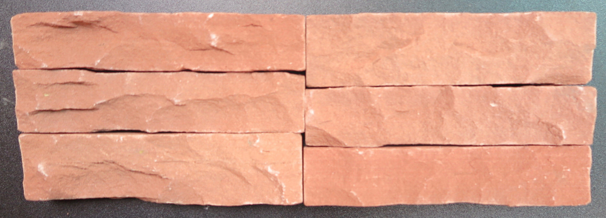 "Morning Glory Sandstone Ledger - 1"" x 7"" x 1 1/2"""
