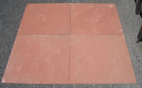 "Morning Glory Sandstone Tile - 24"" x 24"" x 1/2"" - 5/8"""