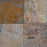 "Multi Color Classic Slate Tile - 8"" x 16"" x 5/16"" - 7/16"" Natural Cleft Face & Back"