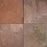 "Multi Color Red Slate Tile - 24"" x 24"" x 1/2"" - 1"" Natural Cleft Face & Back"