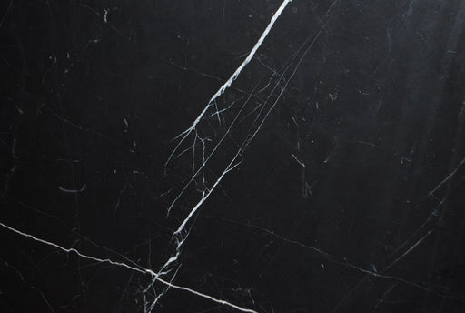 "Nero Marquina Marble Tile - 24"" x 24"" x 1/2"" Polished"