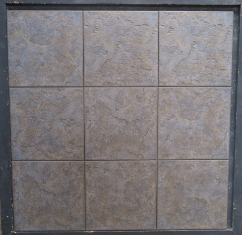 Unpolished Nero Porcelain Tile