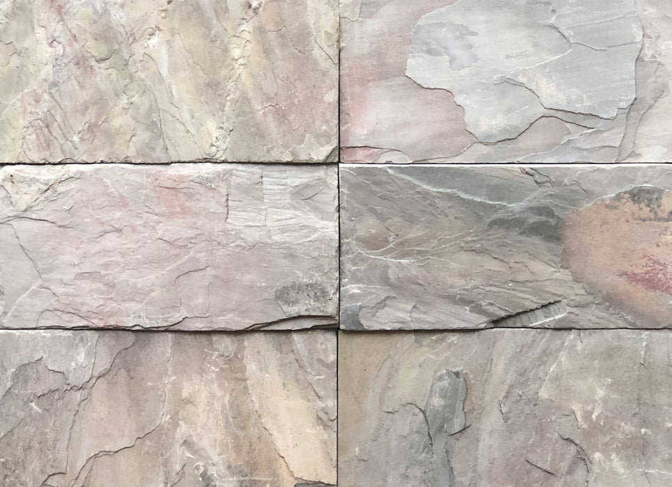 Old Copper Blend Slate Tile - Natural Cleft Face & Back