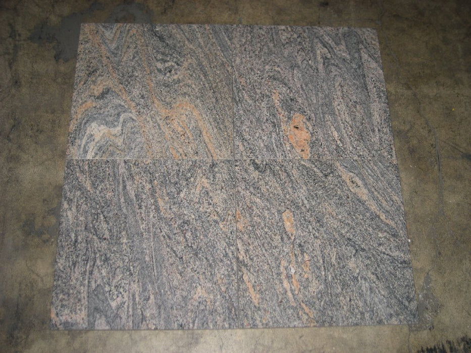 Polished Paradisso Bash Granite Tile