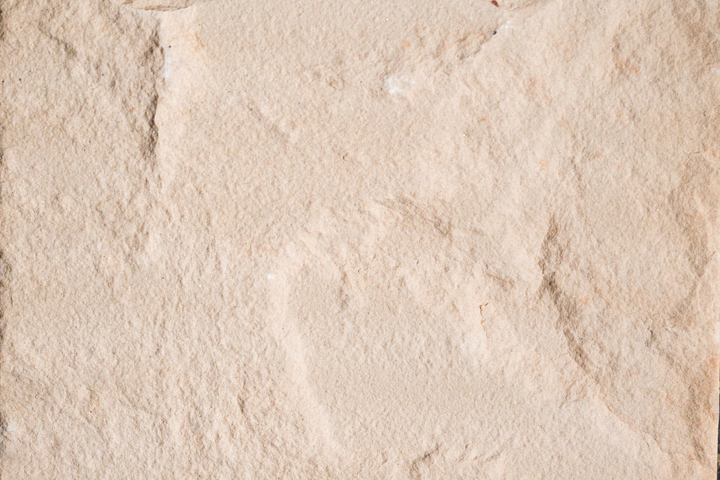 "Peach Blossom Sandstone Tile - 24"" x 24"" x 5/8"" Natural Cleft Face, Gauged Back"