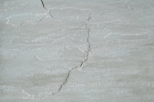 "Pearl Grey Sandstone Tile - 12"" x 12"" x 3/8"" Natural Cleft Face & Back"