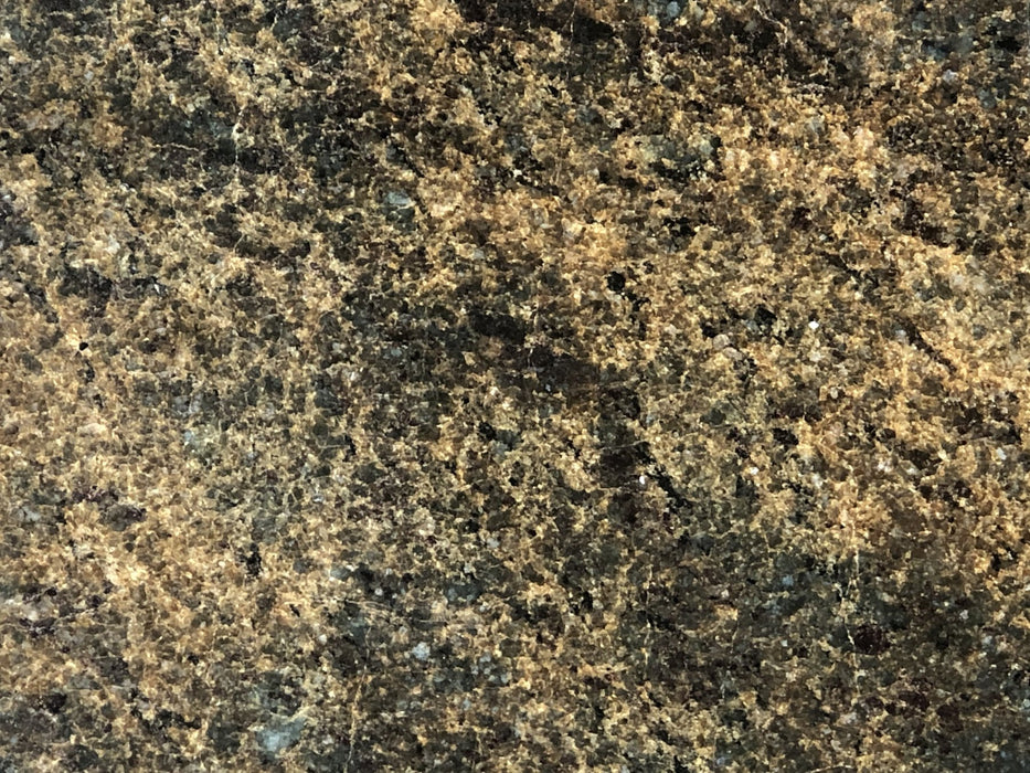 "Full Tile Sample - Pine Green Granite Tile - 12"" x 12"" x 3/8"" Polished"