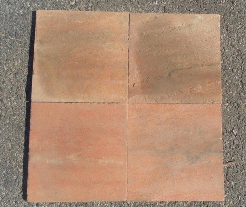 "Radiant Red Sandstone Tile - 12"" x 12"" x 3/8"""