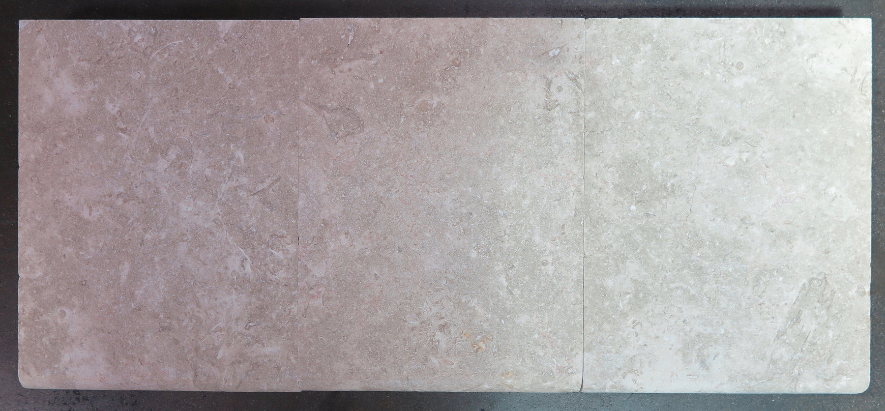 "Ramon Grey Limestone Coping - 12"" x 16"" x 2"" Brushed"