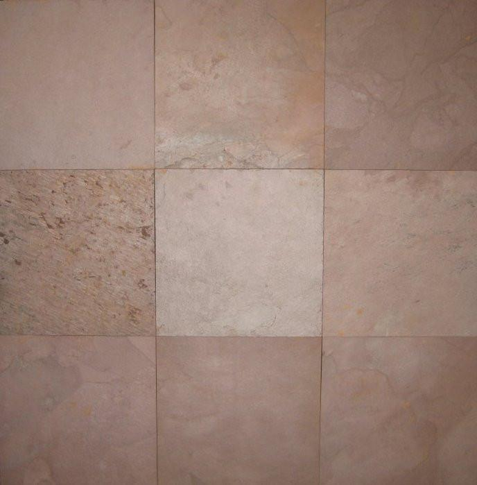 "Red Slate Tile - 16"" x 16"" x 3/8"" - 1/2"""