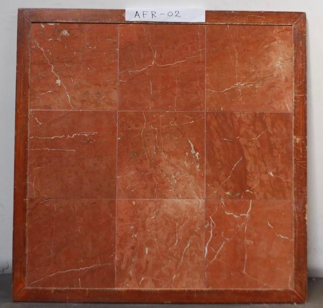 Polished Rojo Alicante Marble Tile
