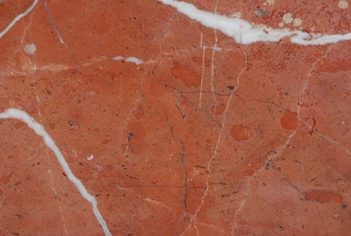 "Full Tile Sample - Rojo Alicante Marble Tile - 12"" x 12"" x 3/8"" Polished"