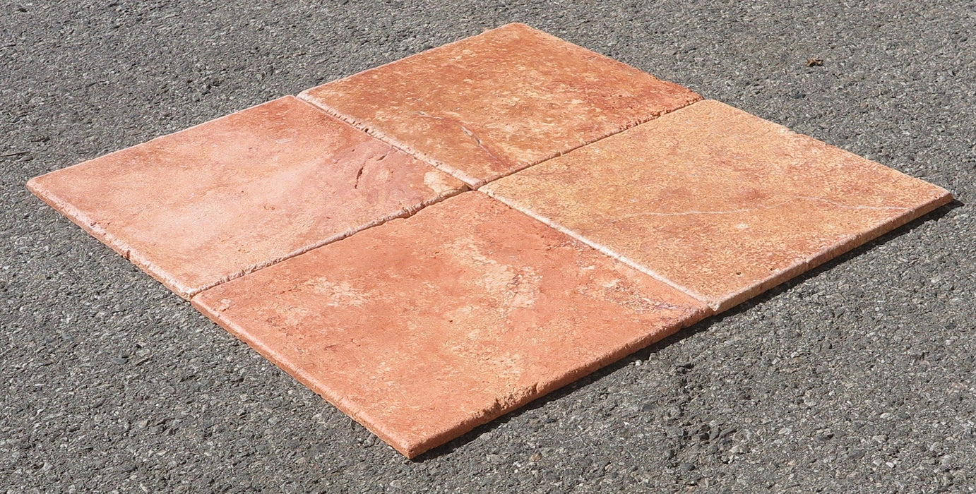Rojo Travertine Tile
